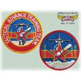 空軍IDF經國號雄鷹戰機戰精班臂章(含氈)